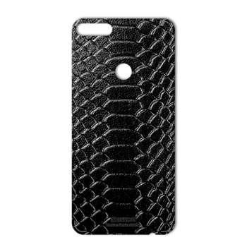 برچسب پوششی ماهوت مدل Snake Leather مناسب برای گوشی  Huawei Y7 Prime 2018