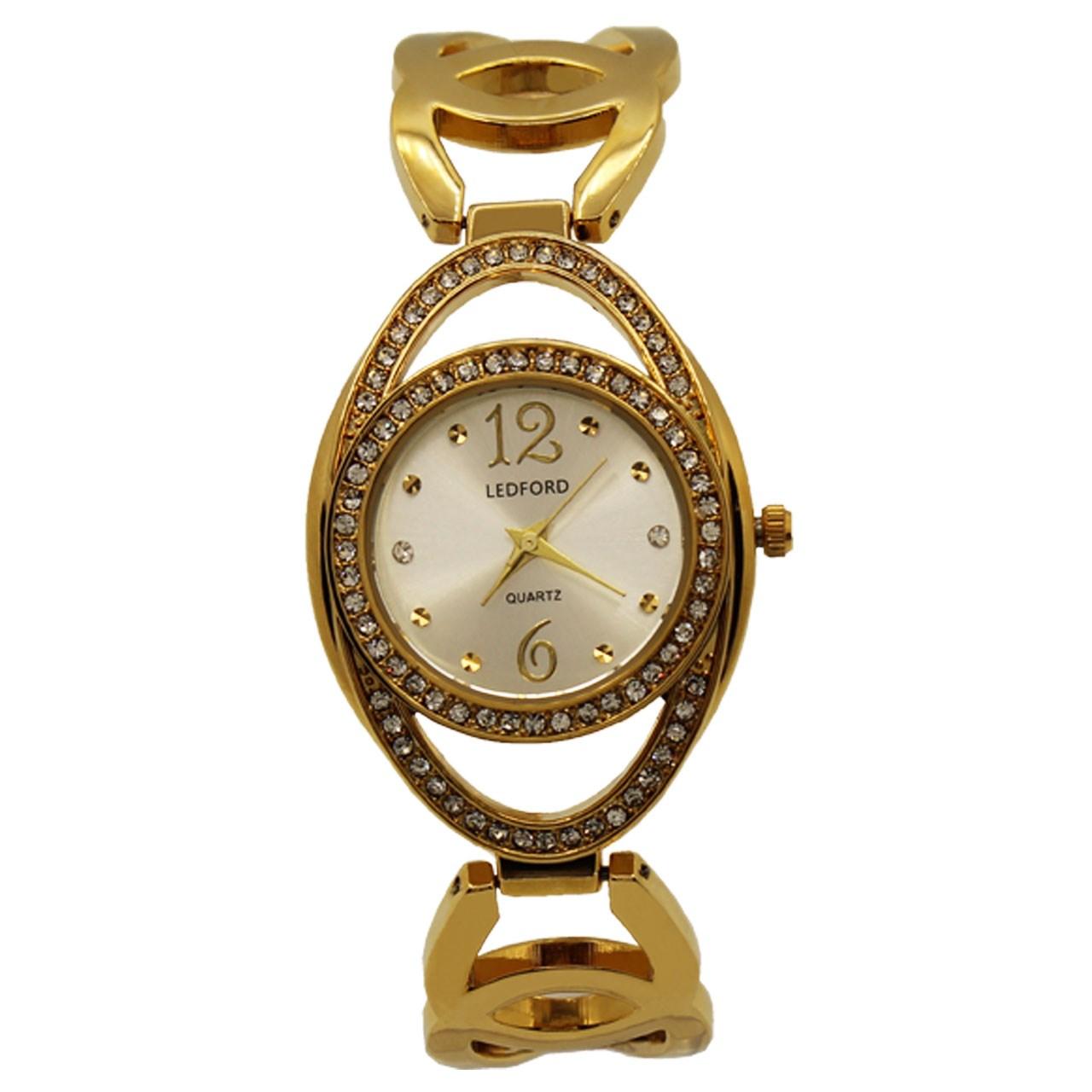 ساعت مچی عقربه ای زنانه لدفورد کد ZU-0006