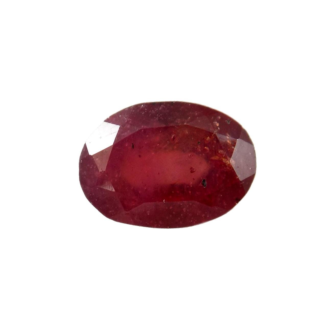 سنگ یاقوت سرخ تاج گوهر کد TG196