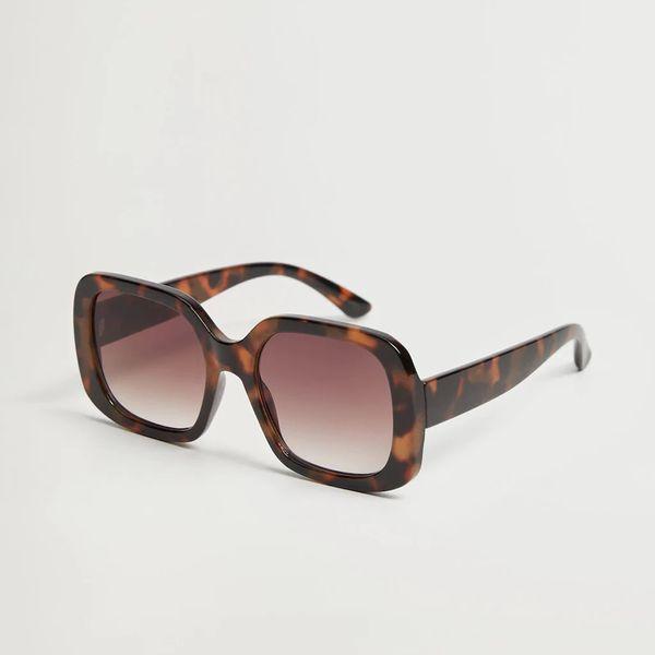 عینک آفتابی زنانه مانگو مدل Tortoiseshell-patterned 87014035
