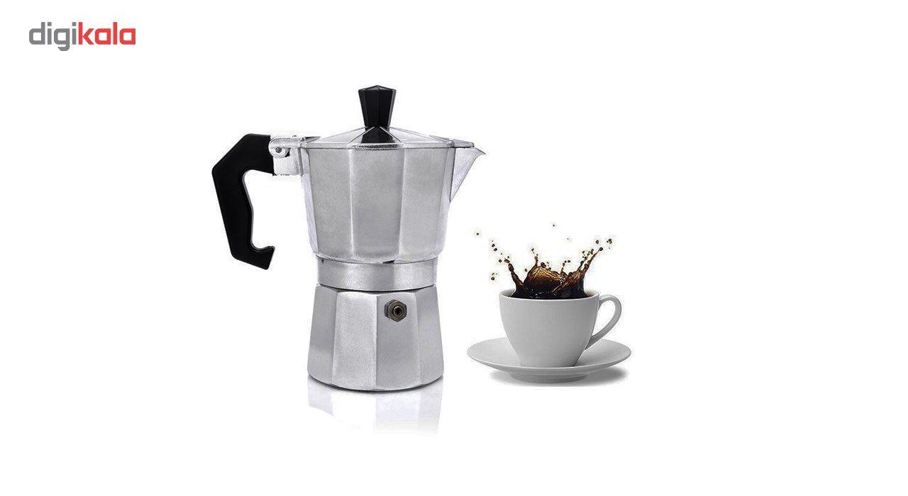 قهوه جوش اسپرسو ساز دستی مدل 3 Cup main 1 1