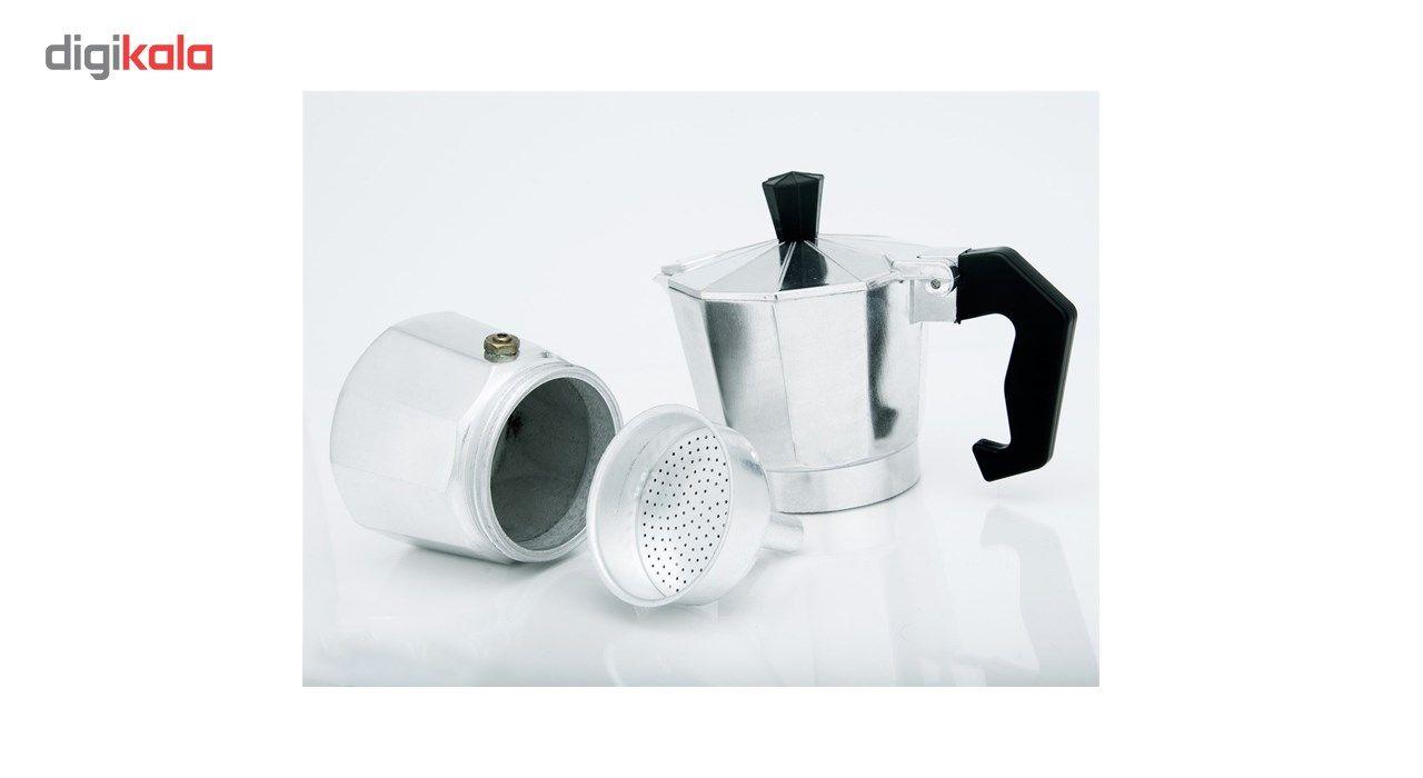 قهوه جوش اسپرسو ساز دستی مدل 3 Cup main 1 2