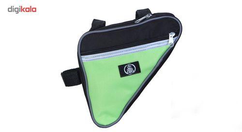 کیف زیر تنه دوچرخه طرح سه گوش کد MG17 سایز بزرگ