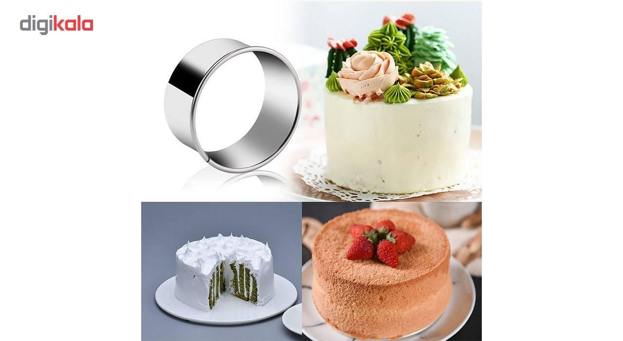 کاتر شیرینی کیک باکس کد 1111 بسته 4 عددی main 1 3