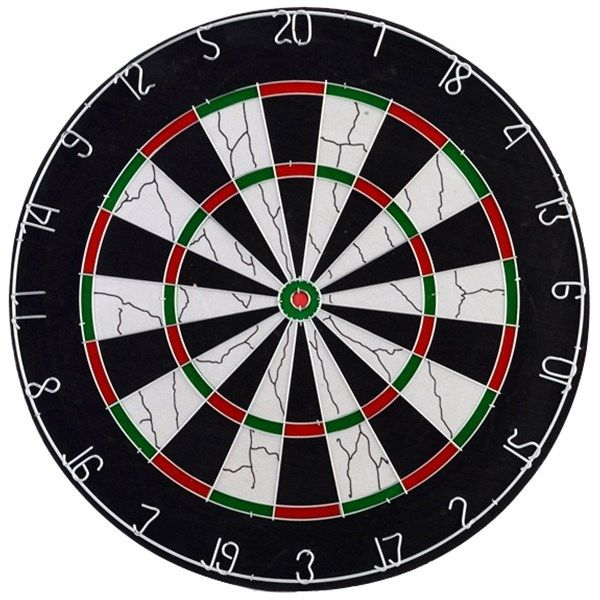 دارت سوزنی Vox مدل Flocked Dart Board کد BL-18013 سایز 18 اینچ