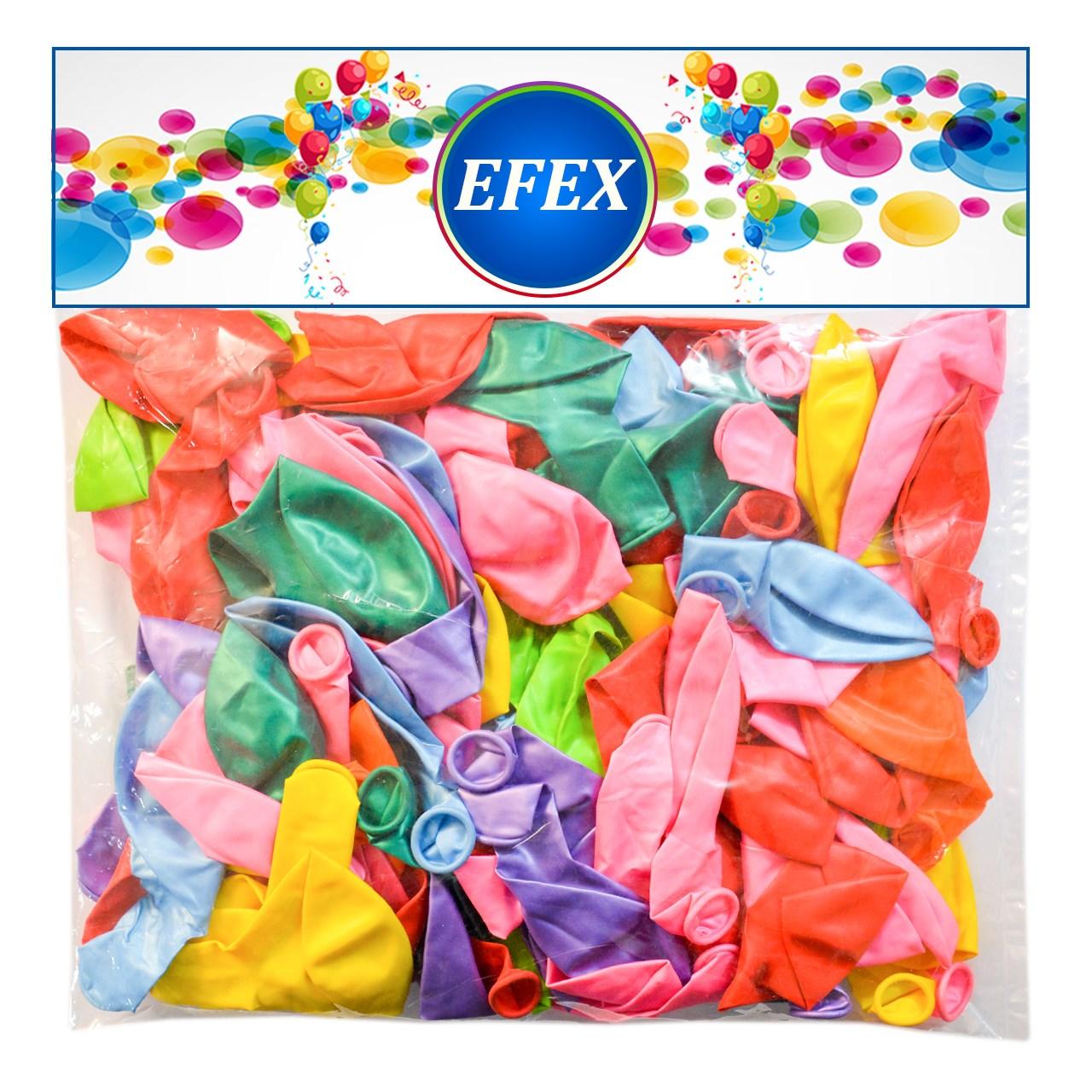 بادکنک  مدل happy snake بسته 25 عددی به همراه تلمبه و قالب Balloon Clips