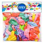 بادکنک متالایز   EFEX  طرح 10 بسته 100 عددی