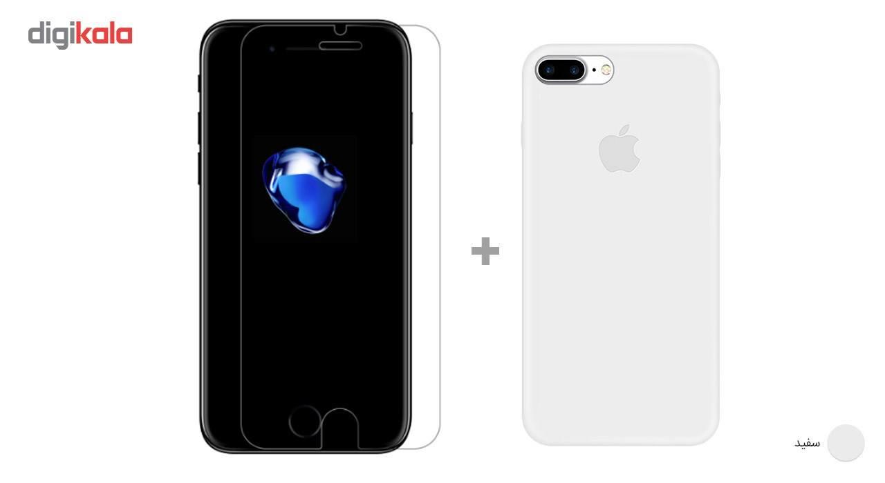 کاور کوالا مدل سیلیکونی مناسب برای گوشی موبایل اپل آیفون 7 پلاس به همراه محافظ صفحه نمایش main 1 6