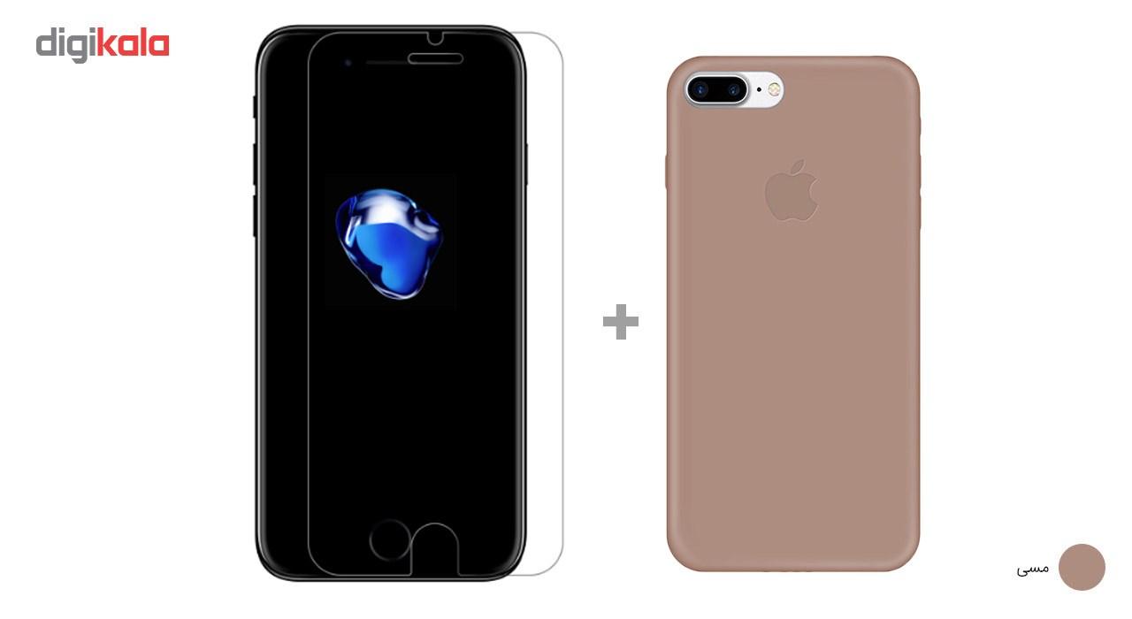 کاور کوالا مدل سیلیکونی مناسب برای گوشی موبایل اپل آیفون 7 پلاس به همراه محافظ صفحه نمایش main 1 9
