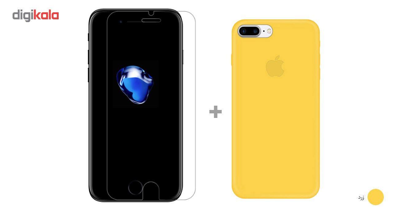 کاور کوالا مدل سیلیکونی مناسب برای گوشی موبایل اپل آیفون 7 پلاس به همراه محافظ صفحه نمایش main 1 10