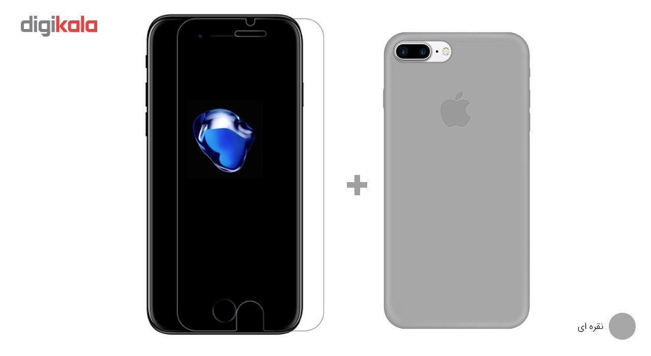کاور کوالا مدل سیلیکونی مناسب برای گوشی موبایل اپل آیفون 7 پلاس به همراه محافظ صفحه نمایش main 1 11