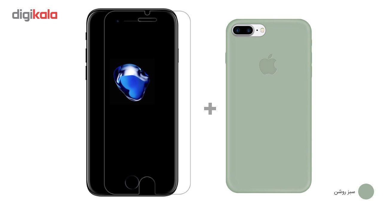 کاور کوالا مدل سیلیکونی مناسب برای گوشی موبایل اپل آیفون 7 پلاس به همراه محافظ صفحه نمایش main 1 12