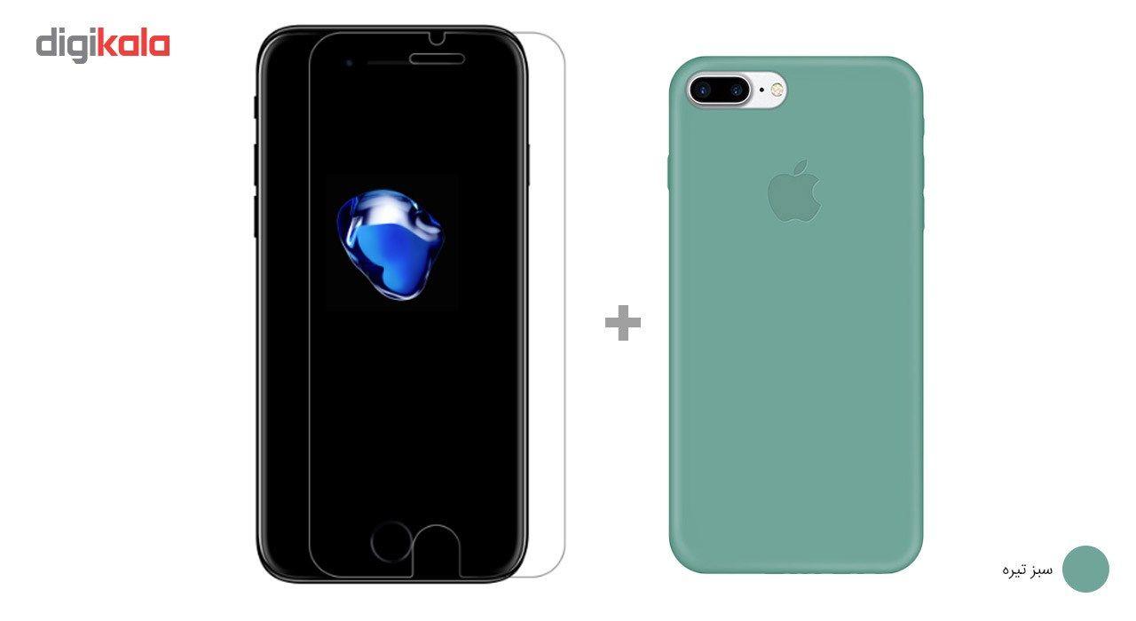 کاور کوالا مدل سیلیکونی مناسب برای گوشی موبایل اپل آیفون 7 پلاس به همراه محافظ صفحه نمایش main 1 13