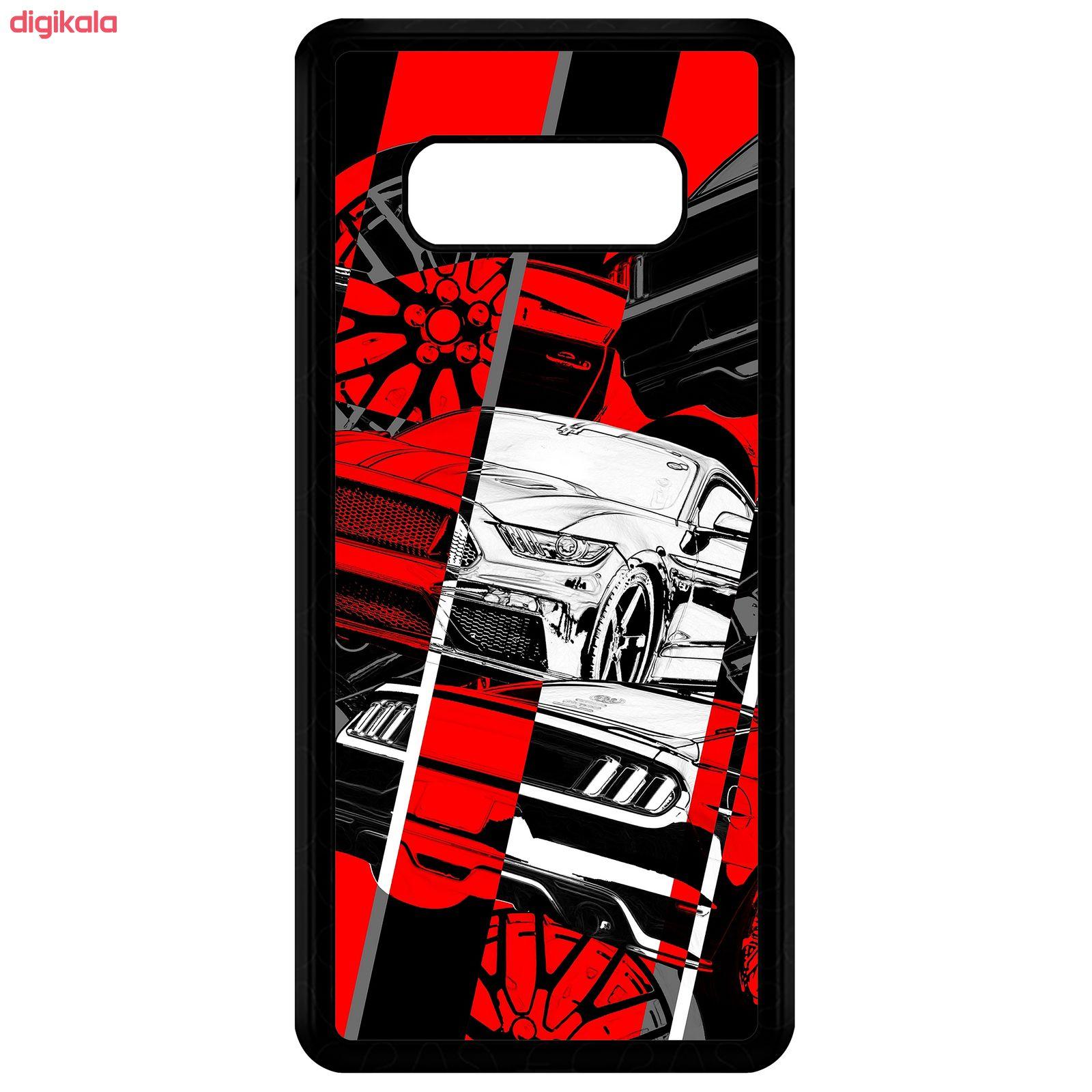 کاور طرح خودرو مدل CHL50218 مناسب برای گوشی موبایل سامسونگ Galaxy Note 8