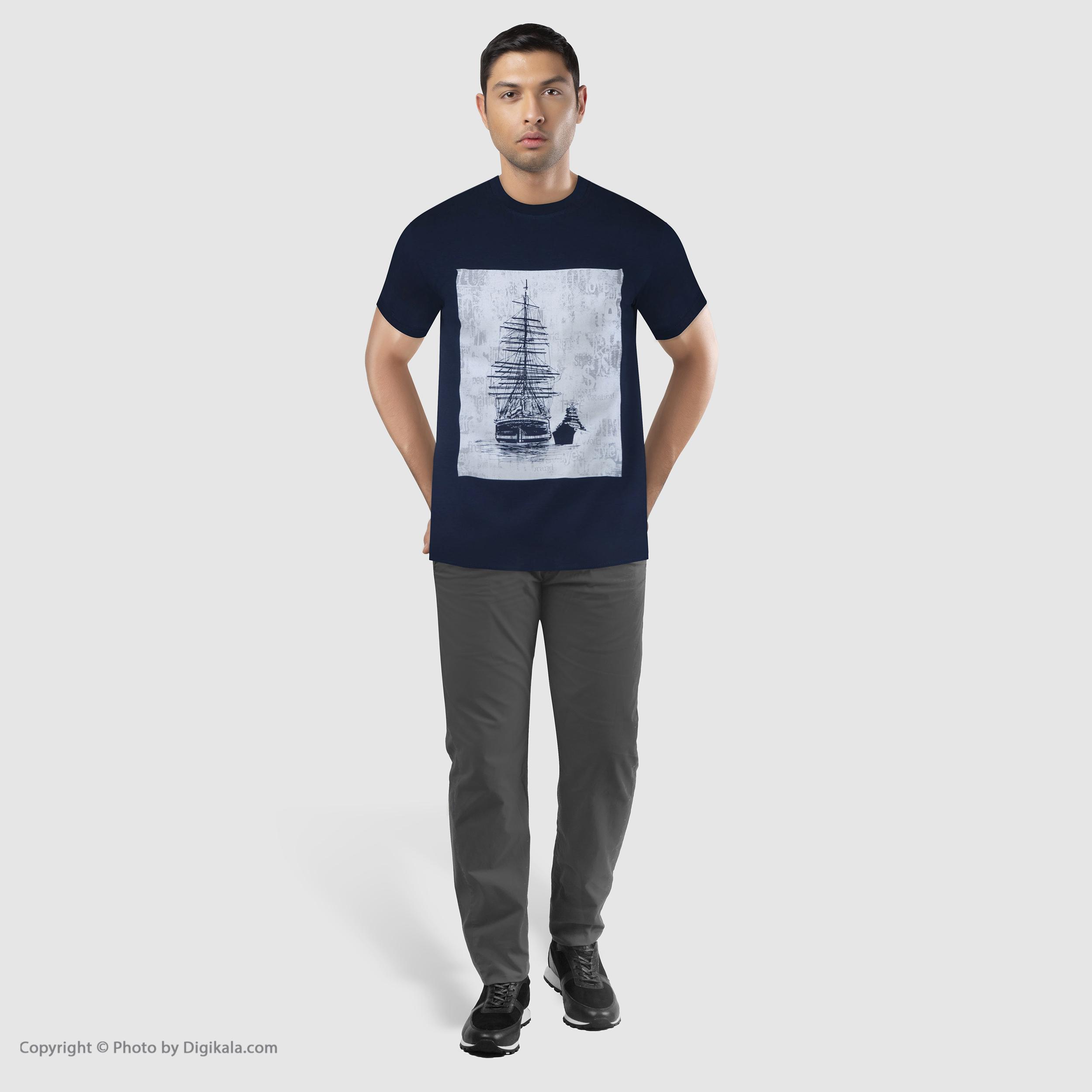 تیشرت مردانه جامه پوش آرا مدل 4011019355-59 -  - 8
