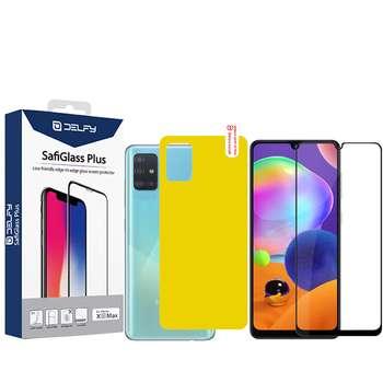 محافظ صفحه نمایش و پشت گوشی مدل Mo-2 مناسب برای گوشی موبایل سامسونگ Galaxy A31