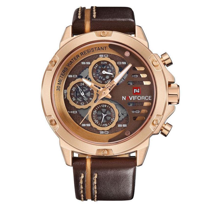 ساعت مچی عقربه ای مردانهنیوی فورس  مدل 10-91
