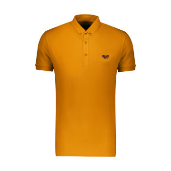 پولوشرت آستین کوتاه مردانه ان سی نو مدل دوما رنگ پرتقالی