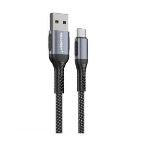 کابل تبدیل USB به USB-C کلومن پلاس مدل +K10 طول 1.5 متر