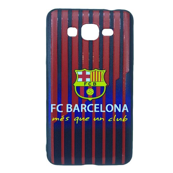 کاور طرح بارسلونا مدل mf1212 مناسب برای گوشی موبایل سامسونگ Galaxy J2 PRIME