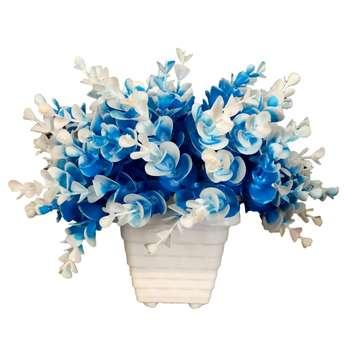 گلدان به همراه گل مصنوعی مدل AN-0612