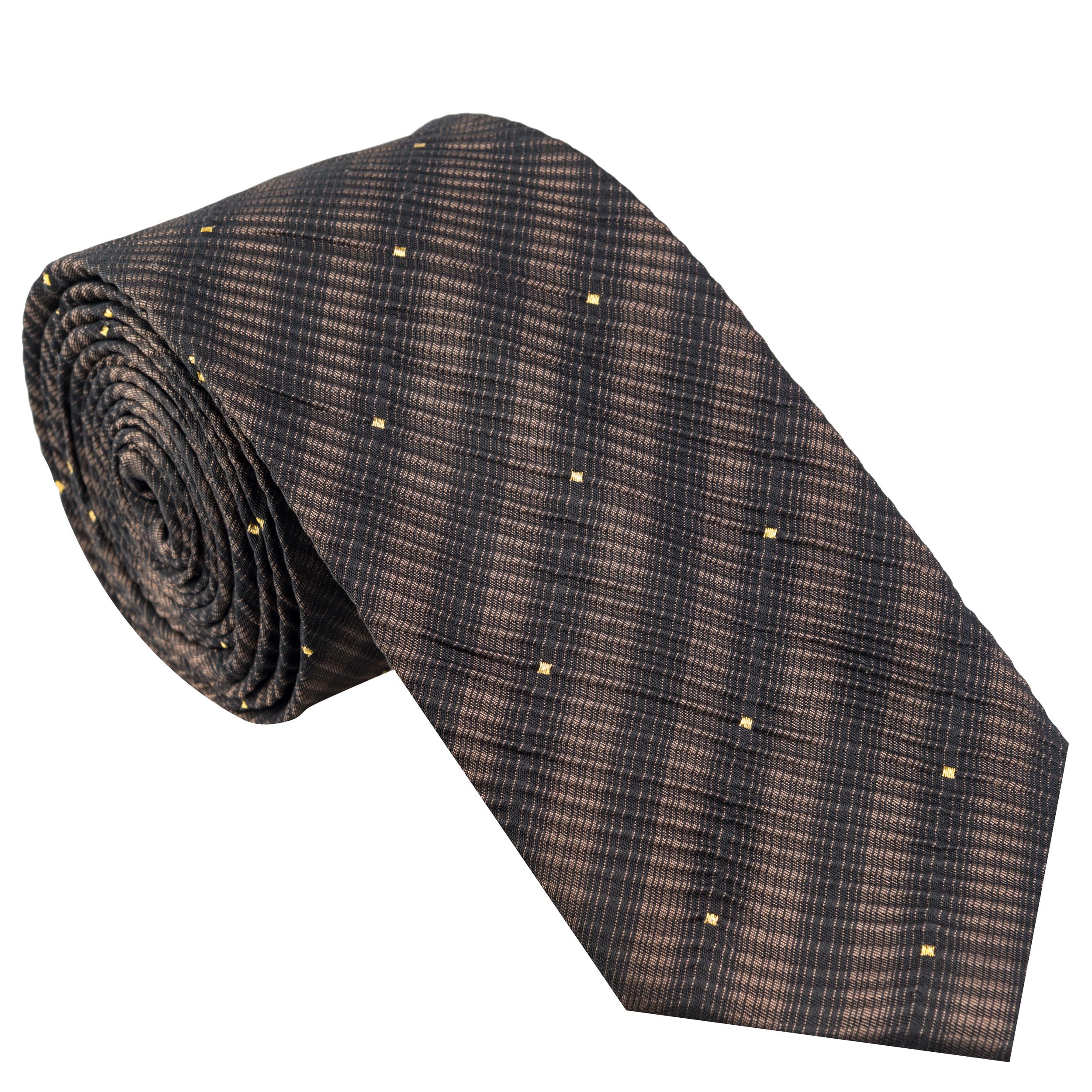 کراوات مردانه جیان فرانکو روسی مدل GF-PO516-BR
