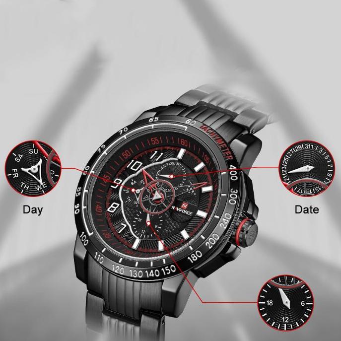 ساعت مچی عقربهای مردانه نیوی فورس مدل NF9180M - ME-GHR