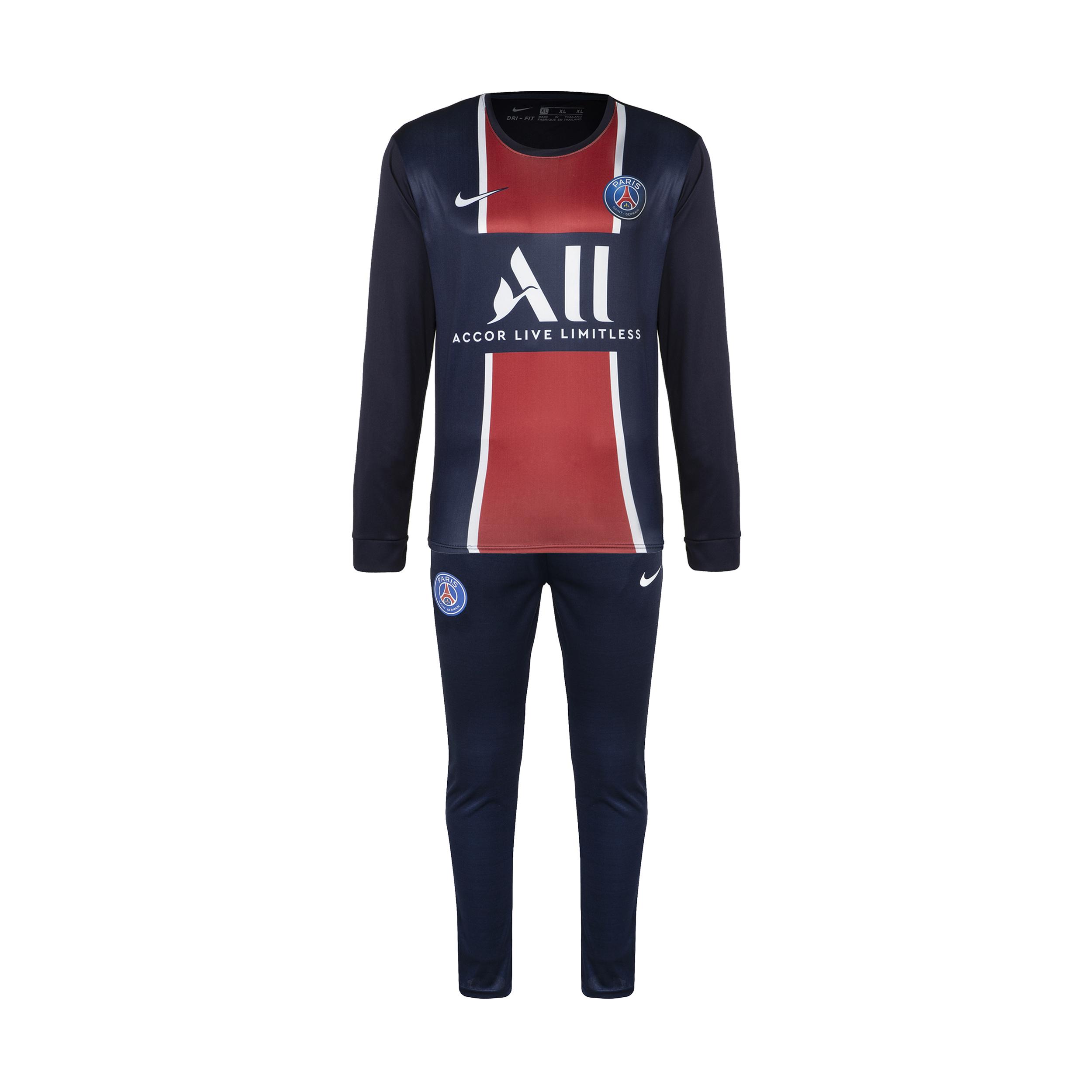 ست تی شرت و شلوار ورزشی پسرانه طرح پاریس سنت ژرمن مدل 2021                     غیر اصل