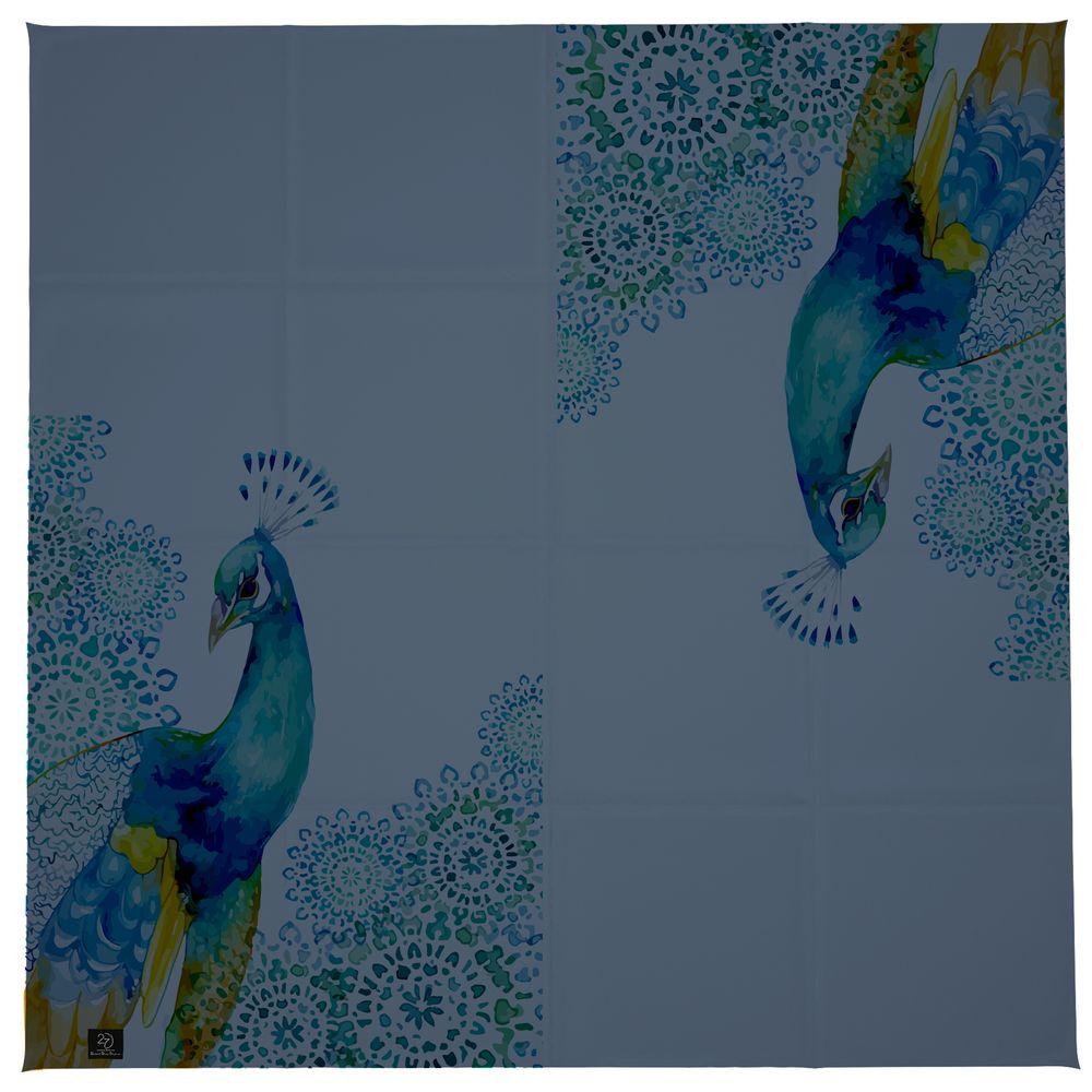 روسری زنانه 27 طرح طاووس کد H04