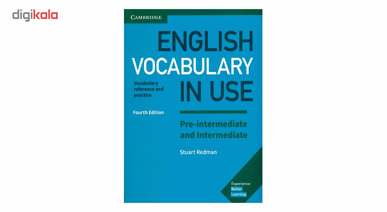 کتاب English Vocabulary In Use Pre Intermediate And Intermediate اثر Stuart Redman