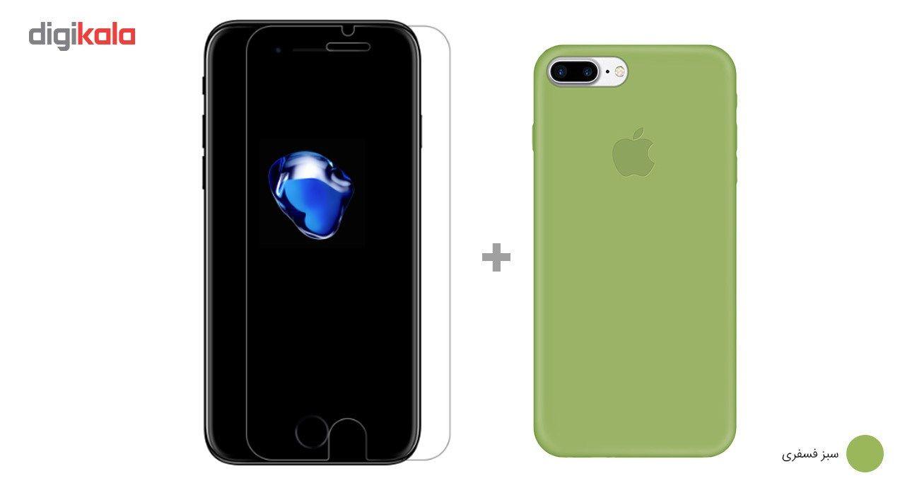 کاور کوالا مدل سیلیکونی مناسب برای گوشی موبایل اپل آیفون 7 پلاس به همراه محافظ صفحه نمایش main 1 14
