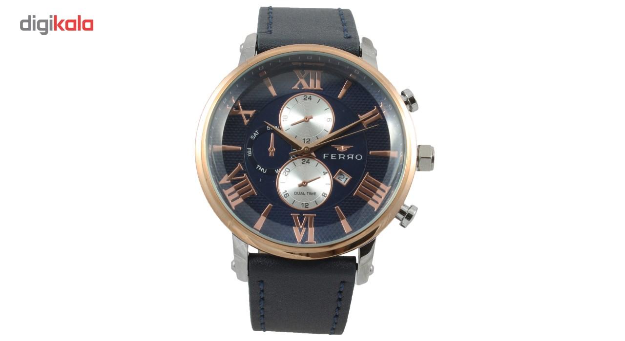 ساعت مچی عقربه ای مردانه فرو مدل F61509-622-E