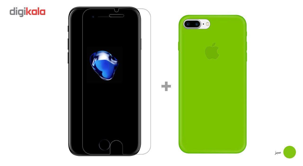 کاور کوالا مدل سیلیکونی مناسب برای گوشی موبایل اپل آیفون 7 پلاس به همراه محافظ صفحه نمایش main 1 15