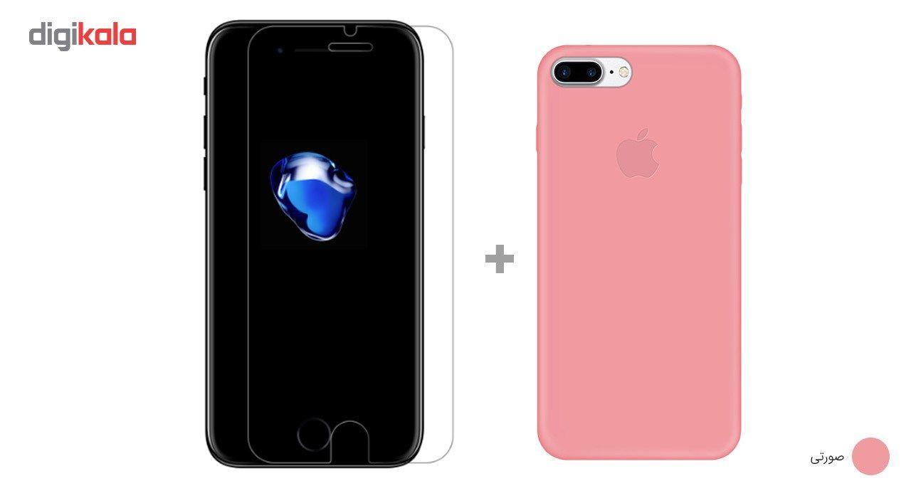 کاور کوالا مدل سیلیکونی مناسب برای گوشی موبایل اپل آیفون 7 پلاس به همراه محافظ صفحه نمایش main 1 17