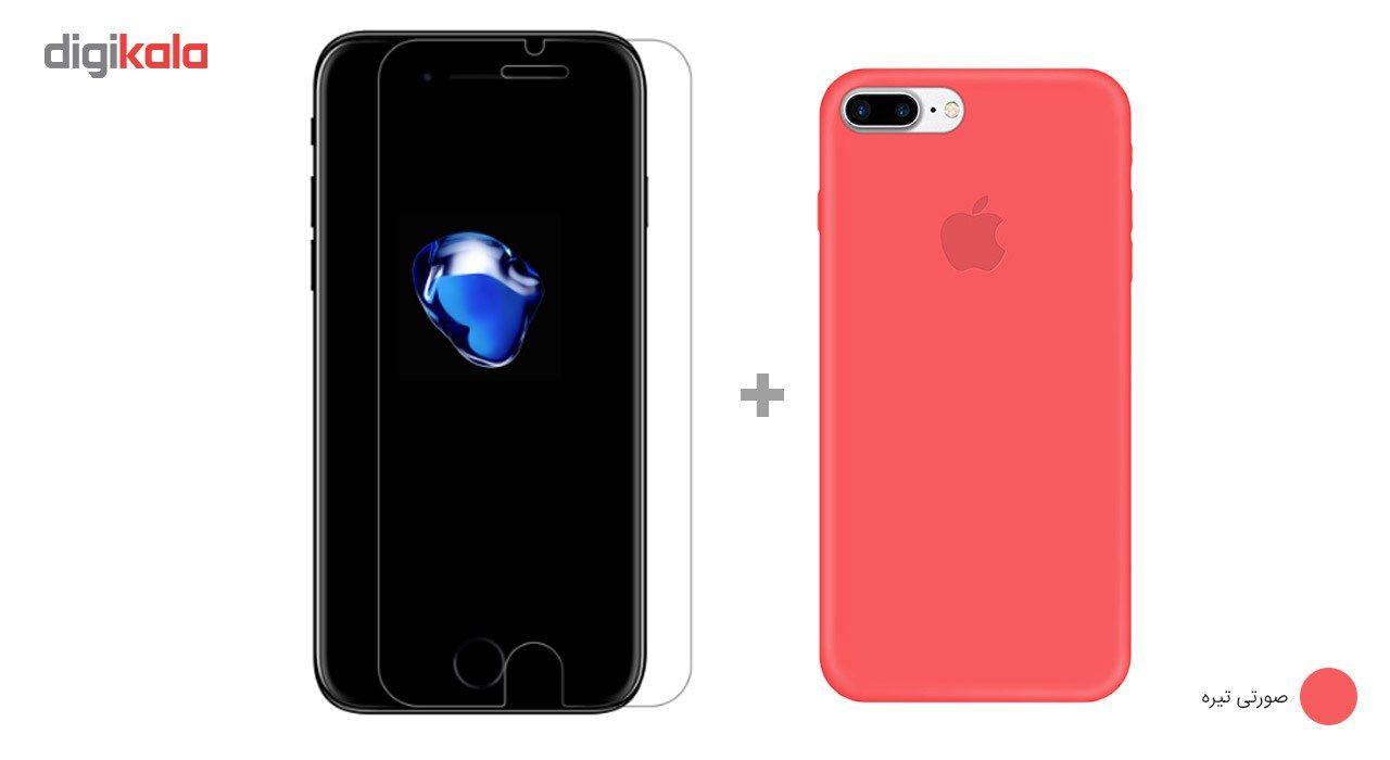 کاور کوالا مدل سیلیکونی مناسب برای گوشی موبایل اپل آیفون 7 پلاس به همراه محافظ صفحه نمایش main 1 18