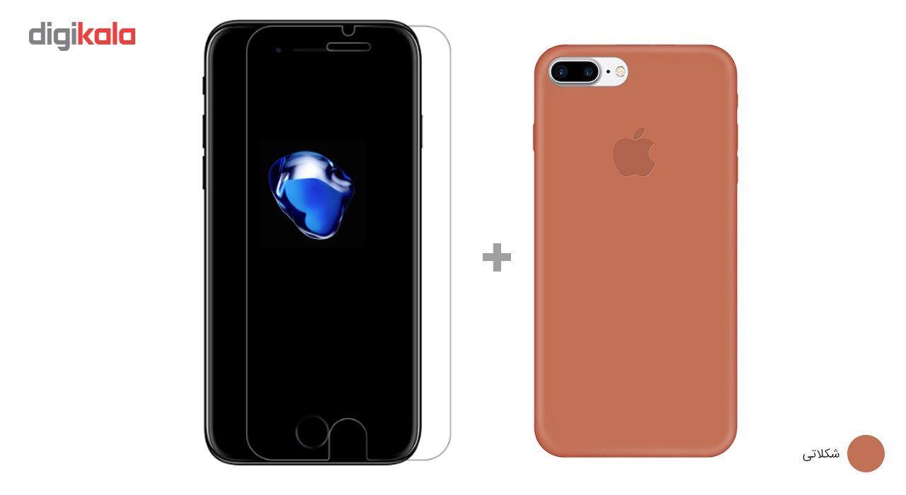 کاور کوالا مدل سیلیکونی مناسب برای گوشی موبایل اپل آیفون 7 پلاس به همراه محافظ صفحه نمایش main 1 19