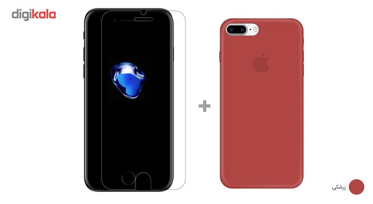 کاور کوالا مدل سیلیکونی مناسب برای گوشی موبایل اپل آیفون 7 پلاس به همراه محافظ صفحه نمایش main 1 21