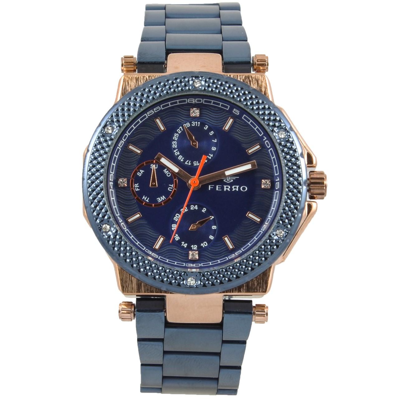 ساعت مچی عقربه ای مردانه فرو مدل F61585-569-T