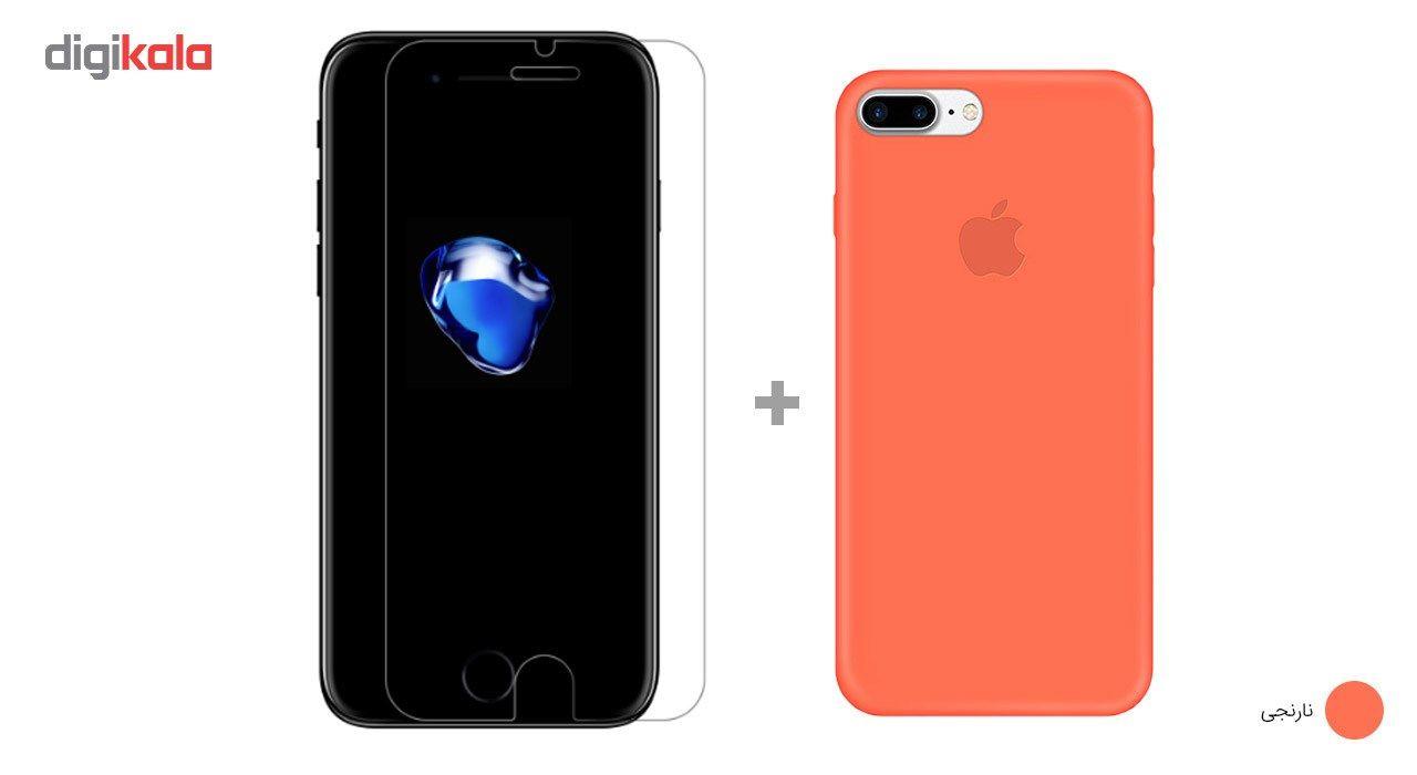 کاور کوالا مدل سیلیکونی مناسب برای گوشی موبایل اپل آیفون 7 پلاس به همراه محافظ صفحه نمایش main 1 22