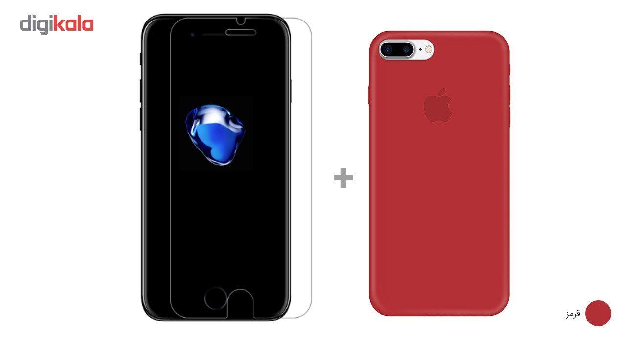 کاور کوالا مدل سیلیکونی مناسب برای گوشی موبایل اپل آیفون 7 پلاس به همراه محافظ صفحه نمایش main 1 23