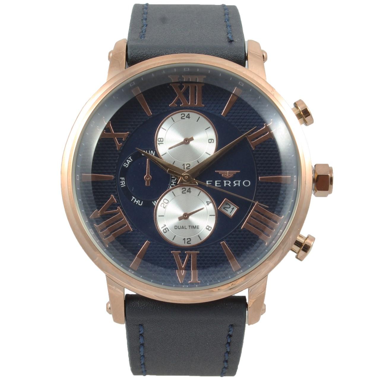 ساعت مچی عقربه ای مردانه فرو مدل F61509-622-C