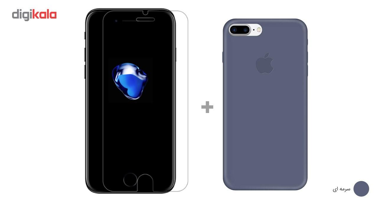 کاور کوالا مدل سیلیکونی مناسب برای گوشی موبایل اپل آیفون 7 پلاس به همراه محافظ صفحه نمایش main 1 24