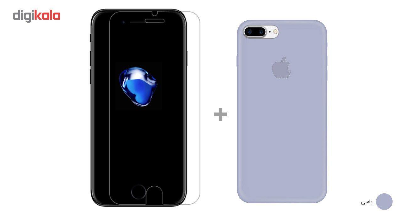 کاور کوالا مدل سیلیکونی مناسب برای گوشی موبایل اپل آیفون 7 پلاس به همراه محافظ صفحه نمایش main 1 25