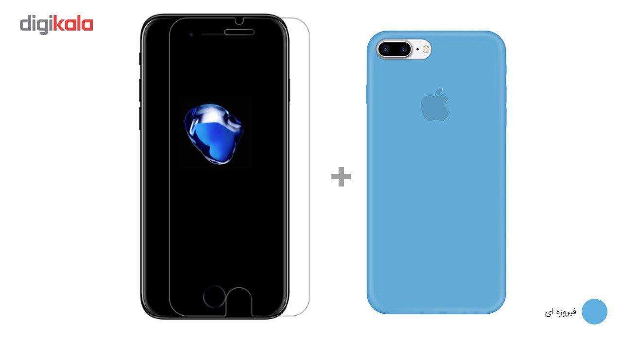کاور کوالا مدل سیلیکونی مناسب برای گوشی موبایل اپل آیفون 7 پلاس به همراه محافظ صفحه نمایش main 1 26