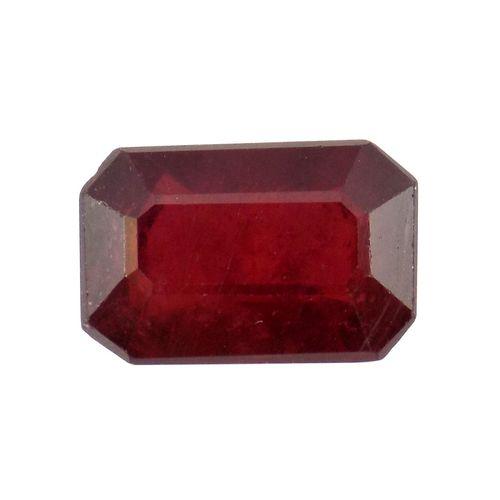 سنگ یاقوت سرخ تاج گوهر کد TG192