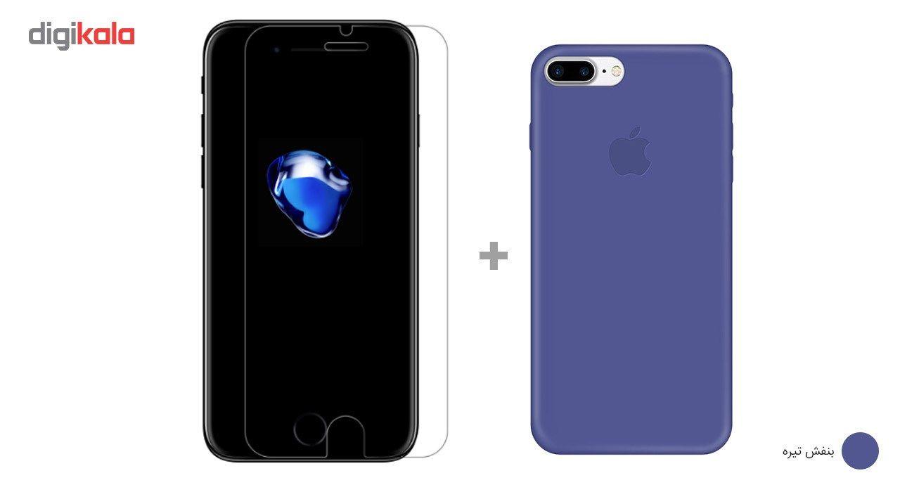 کاور کوالا مدل سیلیکونی مناسب برای گوشی موبایل اپل آیفون 7 پلاس به همراه محافظ صفحه نمایش main 1 27