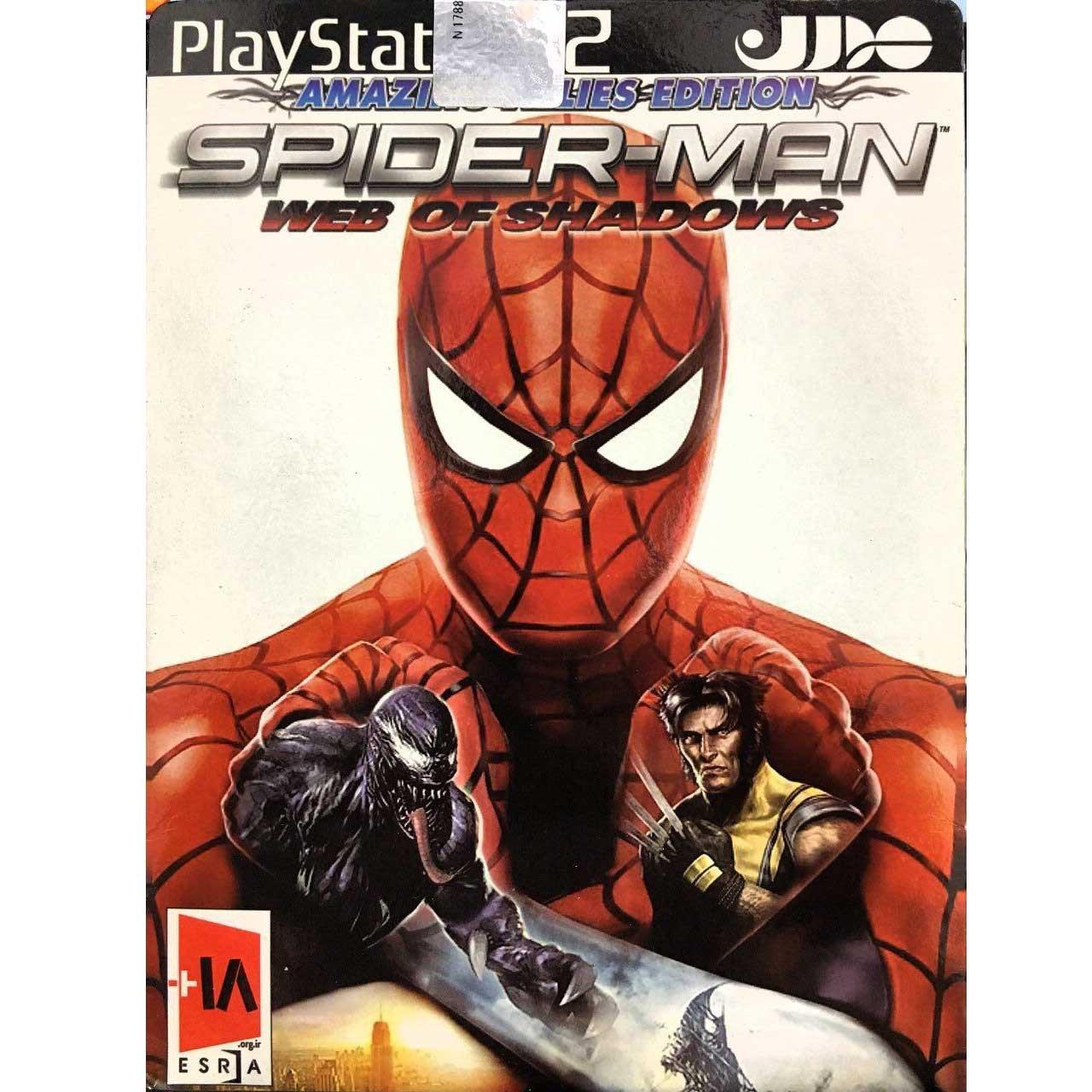 بازی SPIDERMAN WEB OF SHADOWS مخصوص PS2