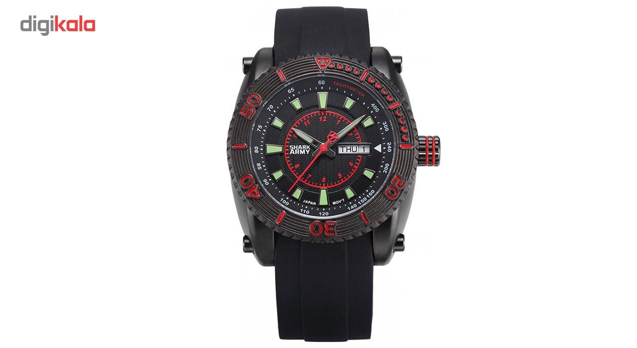 خرید ساعت مچی عقربه ای مردانه شارک آرمی مدل SAW158 | ساعت مچی