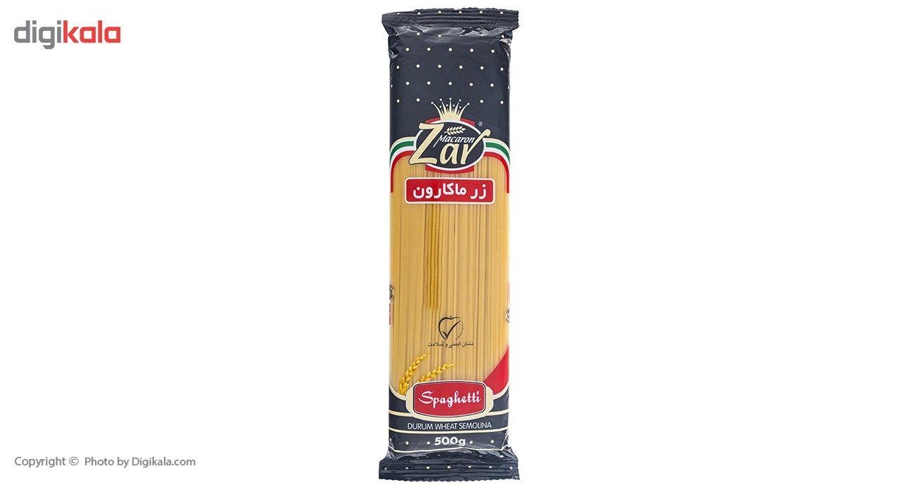 اسپاگتی قطر 1.7 زر ماکارون مقدار 500 گرم main 1 1