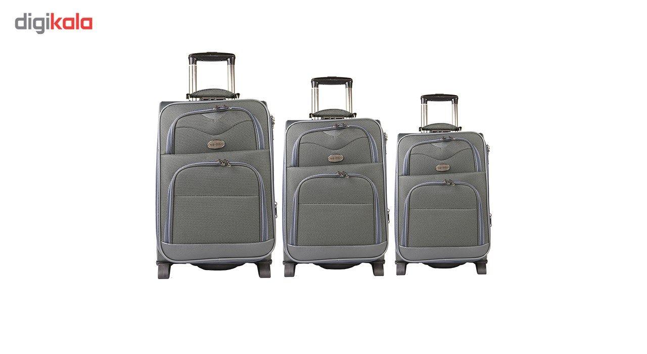مجموعه سه عددی چمدان مدل تاپ یورو 4 main 1 1